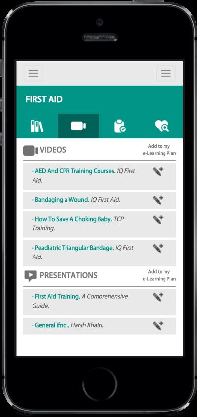 Imagen de la pantalla del eschedule de al App